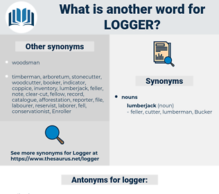logger, synonym logger, another word for logger, words like logger, thesaurus logger