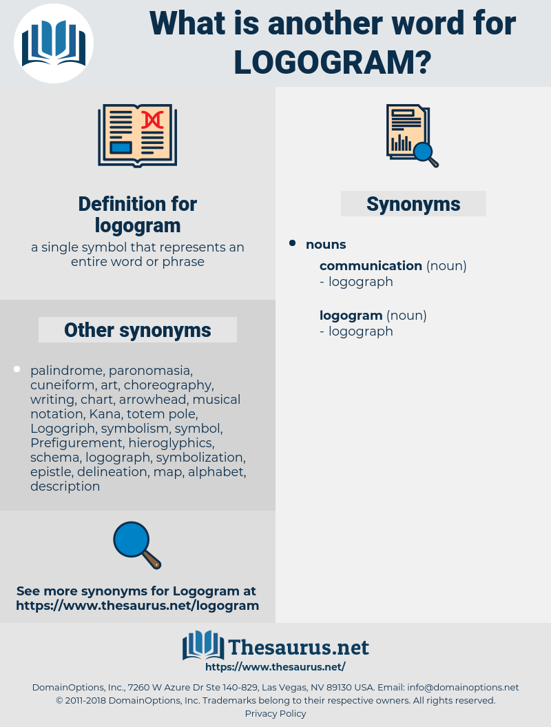 logogram, synonym logogram, another word for logogram, words like logogram, thesaurus logogram