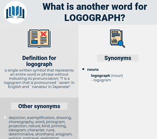 logograph, synonym logograph, another word for logograph, words like logograph, thesaurus logograph