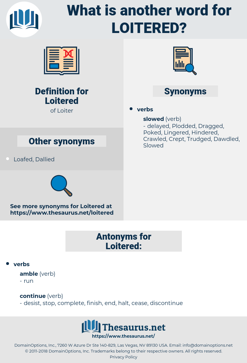 Loitered, synonym Loitered, another word for Loitered, words like Loitered, thesaurus Loitered