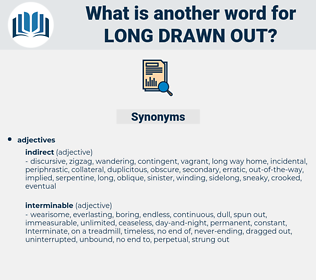 long-drawn-out, synonym long-drawn-out, another word for long-drawn-out, words like long-drawn-out, thesaurus long-drawn-out