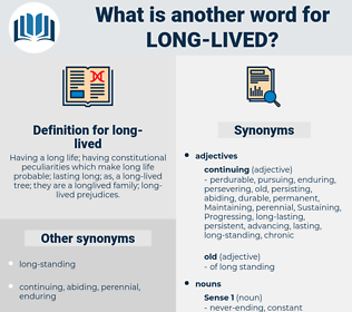 long-lived, synonym long-lived, another word for long-lived, words like long-lived, thesaurus long-lived