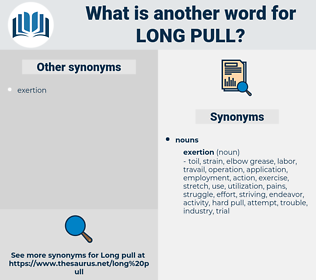 long pull, synonym long pull, another word for long pull, words like long pull, thesaurus long pull