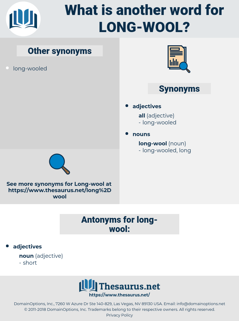 long-wool, synonym long-wool, another word for long-wool, words like long-wool, thesaurus long-wool