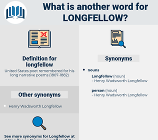 longfellow, synonym longfellow, another word for longfellow, words like longfellow, thesaurus longfellow