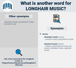 longhair music, synonym longhair music, another word for longhair music, words like longhair music, thesaurus longhair music