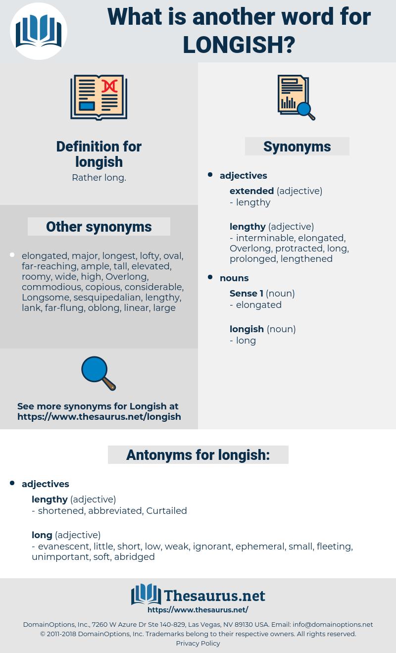 longish, synonym longish, another word for longish, words like longish, thesaurus longish