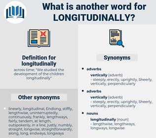 longitudinally, synonym longitudinally, another word for longitudinally, words like longitudinally, thesaurus longitudinally