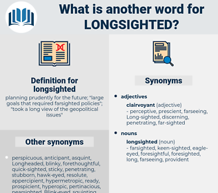 longsighted, synonym longsighted, another word for longsighted, words like longsighted, thesaurus longsighted