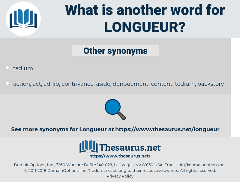 longueur, synonym longueur, another word for longueur, words like longueur, thesaurus longueur