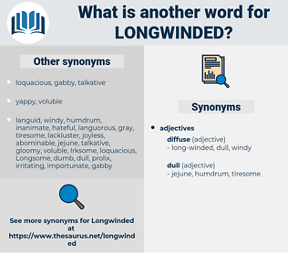longwinded, synonym longwinded, another word for longwinded, words like longwinded, thesaurus longwinded