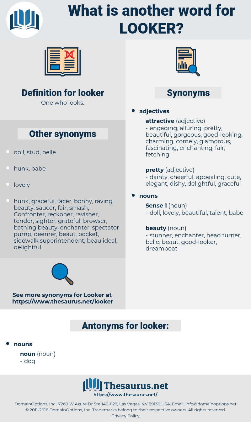 looker, synonym looker, another word for looker, words like looker, thesaurus looker