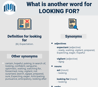looking for, synonym looking for, another word for looking for, words like looking for, thesaurus looking for