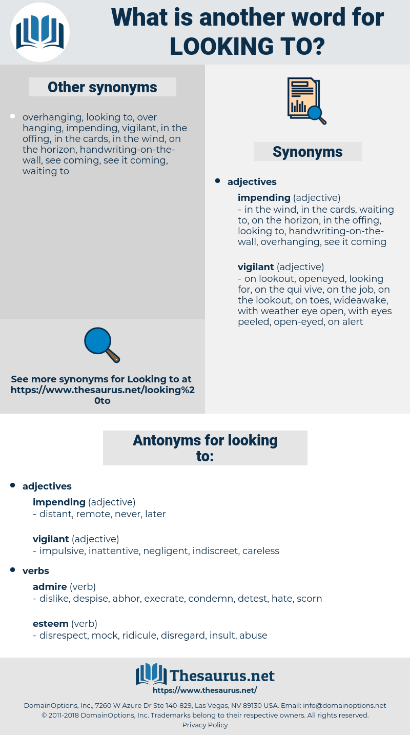 looking to, synonym looking to, another word for looking to, words like looking to, thesaurus looking to