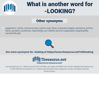 looking, synonym looking, another word for looking, words like looking, thesaurus looking