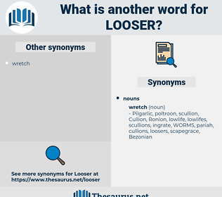 looser, synonym looser, another word for looser, words like looser, thesaurus looser