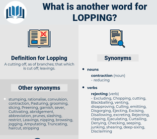 Lopping, synonym Lopping, another word for Lopping, words like Lopping, thesaurus Lopping