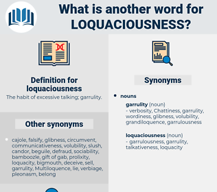 loquaciousness, synonym loquaciousness, another word for loquaciousness, words like loquaciousness, thesaurus loquaciousness