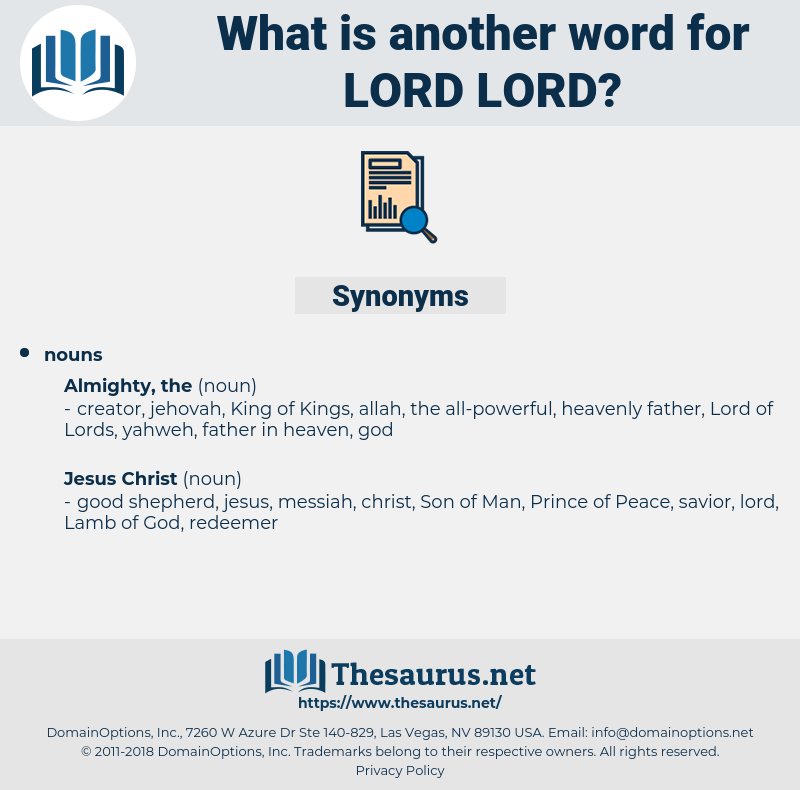 lord lord, synonym lord lord, another word for lord lord, words like lord lord, thesaurus lord lord