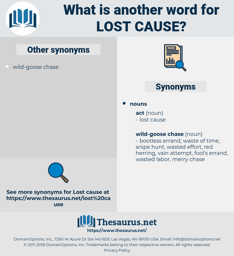 lost cause, synonym lost cause, another word for lost cause, words like lost cause, thesaurus lost cause