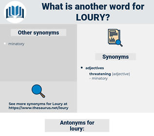 loury, synonym loury, another word for loury, words like loury, thesaurus loury