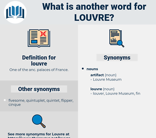 louvre, synonym louvre, another word for louvre, words like louvre, thesaurus louvre