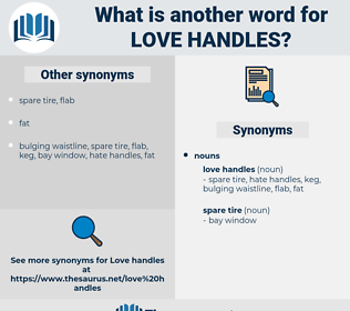 love handles, synonym love handles, another word for love handles, words like love handles, thesaurus love handles