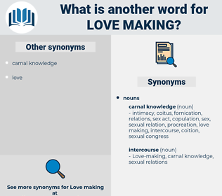 Love-making, synonym Love-making, another word for Love-making, words like Love-making, thesaurus Love-making