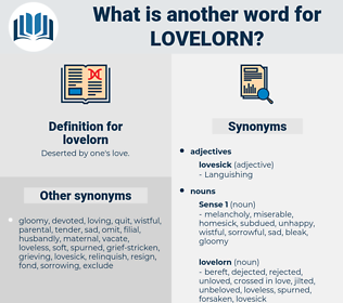 lovelorn, synonym lovelorn, another word for lovelorn, words like lovelorn, thesaurus lovelorn
