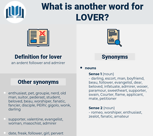 lover, synonym lover, another word for lover, words like lover, thesaurus lover
