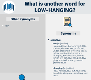 low-hanging, synonym low-hanging, another word for low-hanging, words like low-hanging, thesaurus low-hanging