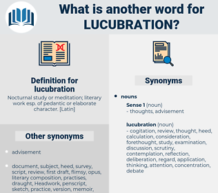lucubration, synonym lucubration, another word for lucubration, words like lucubration, thesaurus lucubration