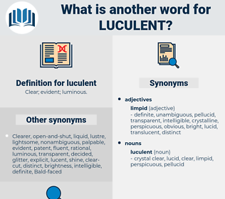 luculent, synonym luculent, another word for luculent, words like luculent, thesaurus luculent