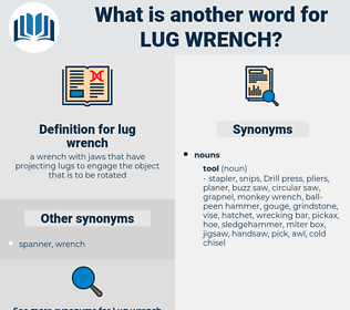 lug wrench, synonym lug wrench, another word for lug wrench, words like lug wrench, thesaurus lug wrench