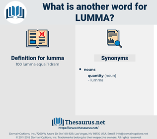 lumma, synonym lumma, another word for lumma, words like lumma, thesaurus lumma