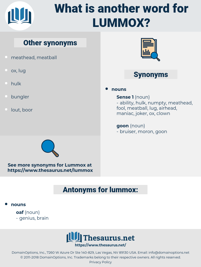lummox, synonym lummox, another word for lummox, words like lummox, thesaurus lummox