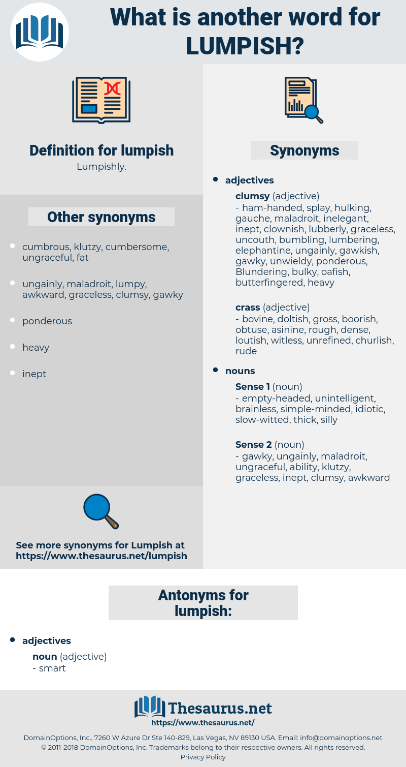 lumpish, synonym lumpish, another word for lumpish, words like lumpish, thesaurus lumpish