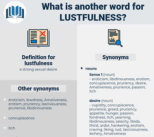 lustfulness, synonym lustfulness, another word for lustfulness, words like lustfulness, thesaurus lustfulness