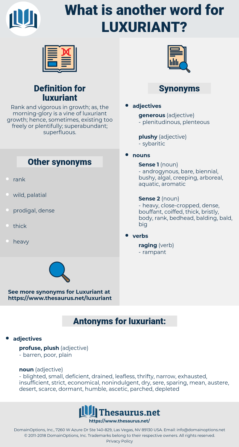 luxuriant, synonym luxuriant, another word for luxuriant, words like luxuriant, thesaurus luxuriant