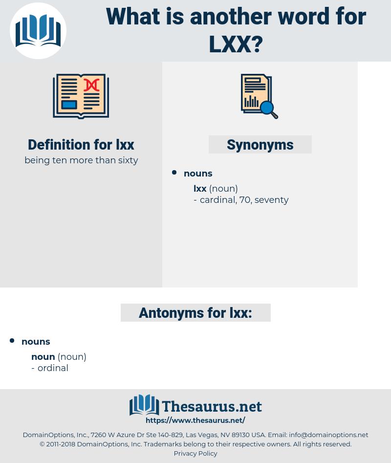 lxx, synonym lxx, another word for lxx, words like lxx, thesaurus lxx