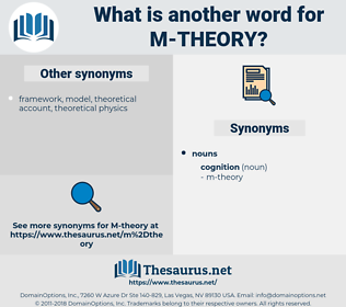 m-theory, synonym m-theory, another word for m-theory, words like m-theory, thesaurus m-theory