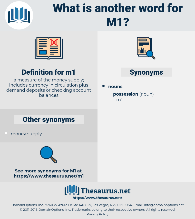 m1, synonym m1, another word for m1, words like m1, thesaurus m1