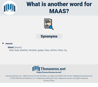 MAAS, synonym MAAS, another word for MAAS, words like MAAS, thesaurus MAAS