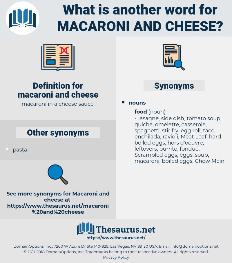 macaroni and cheese, synonym macaroni and cheese, another word for macaroni and cheese, words like macaroni and cheese, thesaurus macaroni and cheese