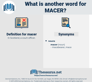 macer, synonym macer, another word for macer, words like macer, thesaurus macer