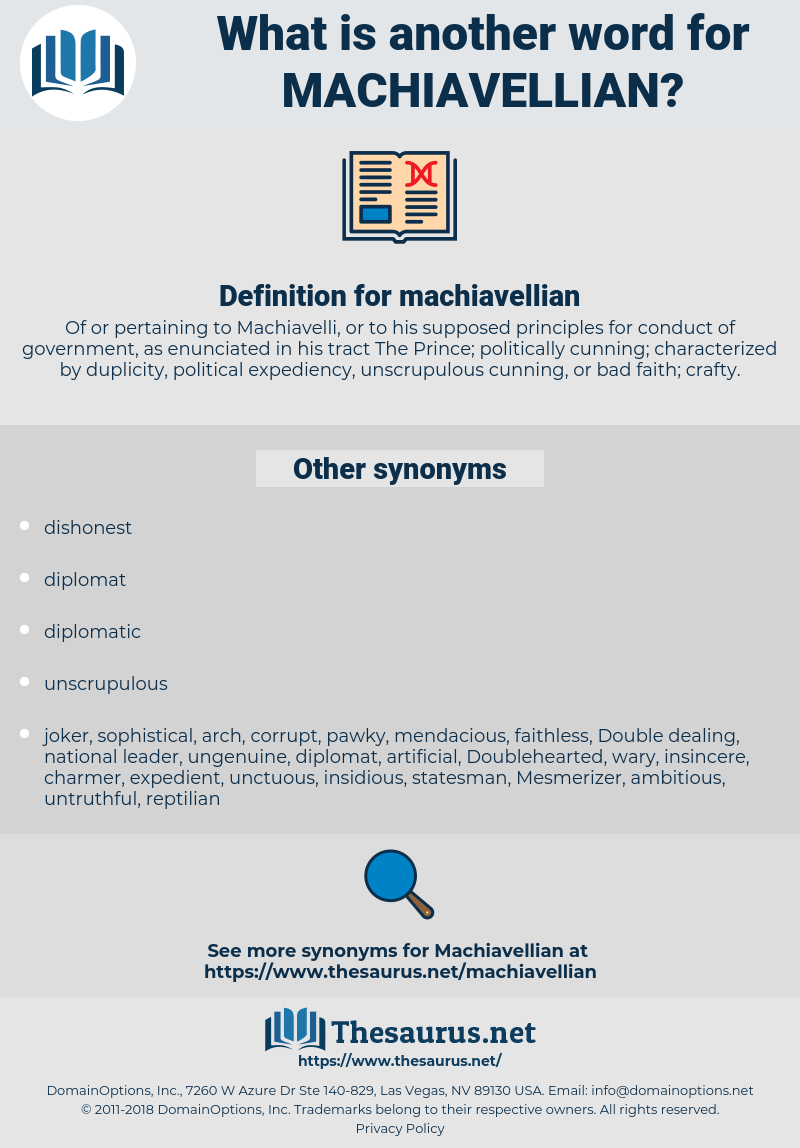 machiavellian, synonym machiavellian, another word for machiavellian, words like machiavellian, thesaurus machiavellian
