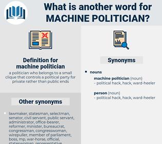 machine politician, synonym machine politician, another word for machine politician, words like machine politician, thesaurus machine politician