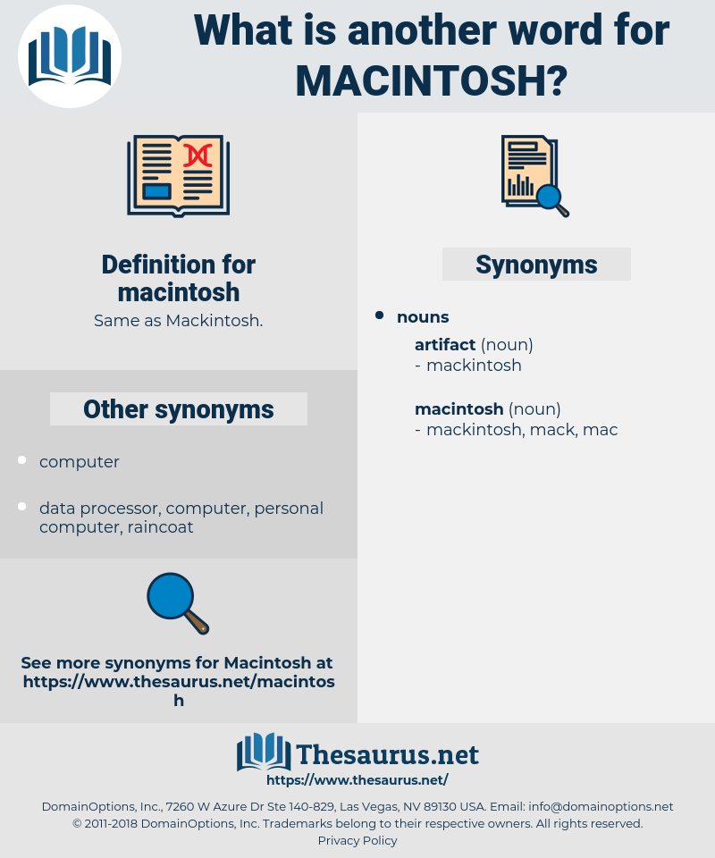 macintosh, synonym macintosh, another word for macintosh, words like macintosh, thesaurus macintosh