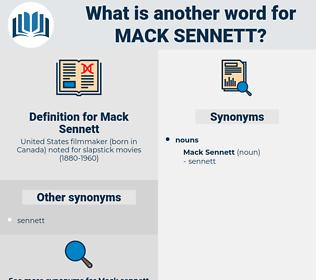 Mack Sennett, synonym Mack Sennett, another word for Mack Sennett, words like Mack Sennett, thesaurus Mack Sennett