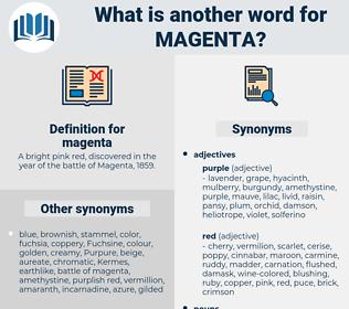 magenta, synonym magenta, another word for magenta, words like magenta, thesaurus magenta